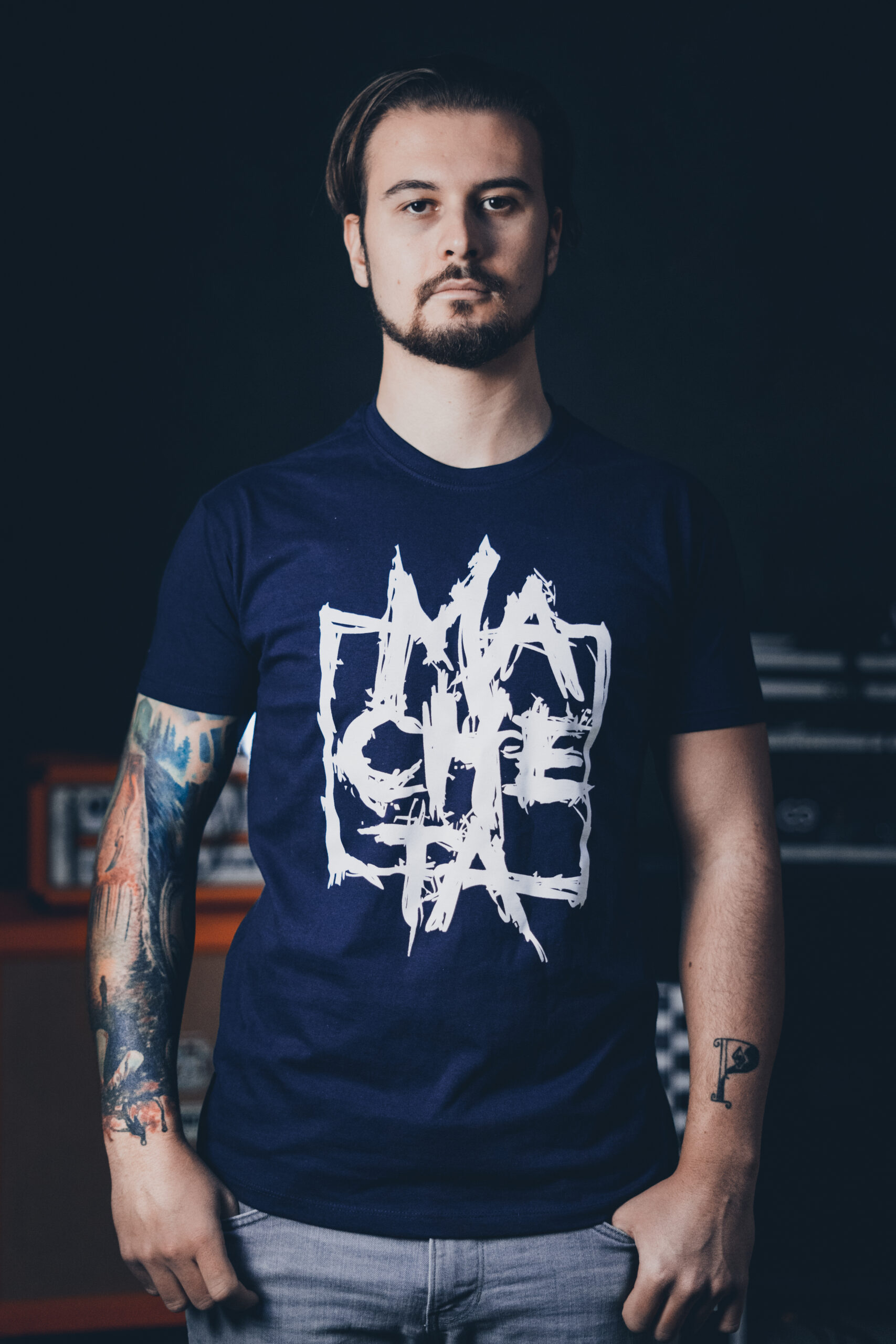 Macheta Men Navy T-shirt